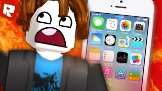 ESCAPE FROM the IPHONE 7 | Roblox