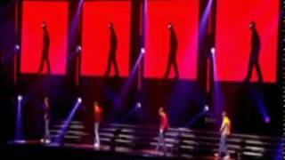 Michael Jackson Tribute by Westlife
