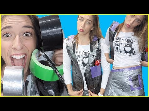 Making Clothes Out of Duct Tape!