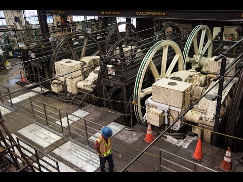 California Cable Car Line Gearbox Replacement Project