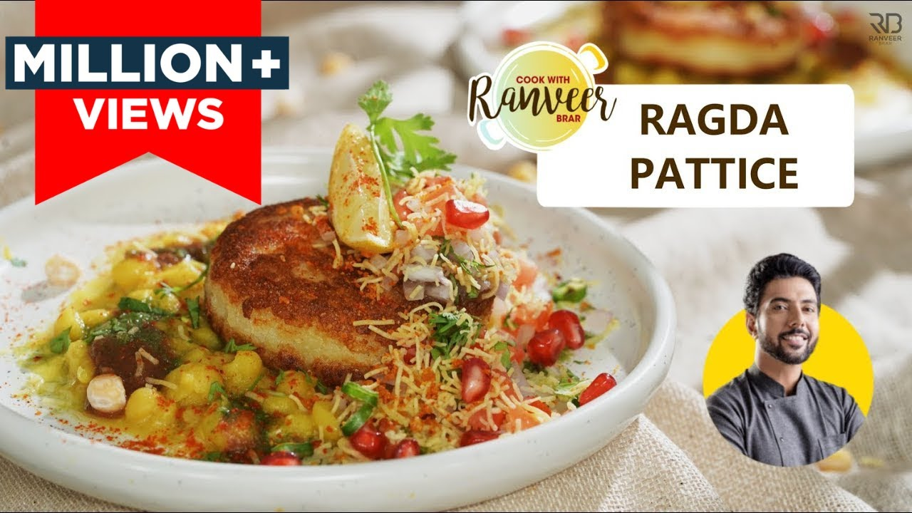 Ragda Pattice / Patties chaat | मुम्बई स्पेशल रगड़ा पेटिस chaat | Chole Tikki | Chef Ranveer Brar