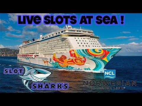 🚨 LIVE Wednesday Night Slots from Sea 🦈 Norwegian Getaway 🎰