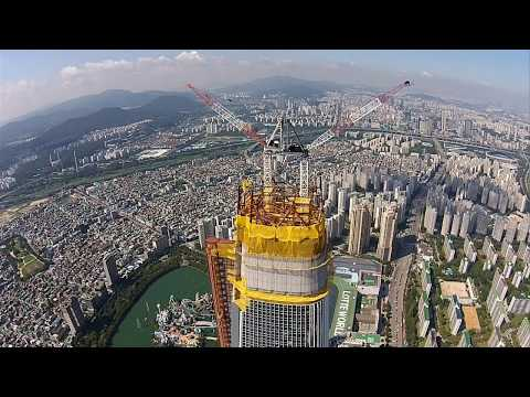 Update 5/2017 Supertall Greenland Center636m 2087ft125 fl WUHAN,Lotte World Tower 555m,1819ft,123fl