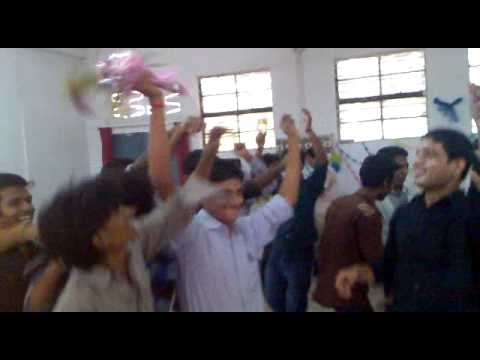 students celebration on teacher's day