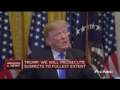 Trump says we must not allow political violence to happen in America