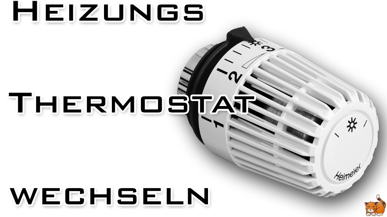 Heizungs Thermostat Wechseln Youtube