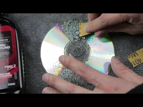 Fix a scratched disc for cheap! (Not using toothpaste! CD/DVD only)   BeatTheBush