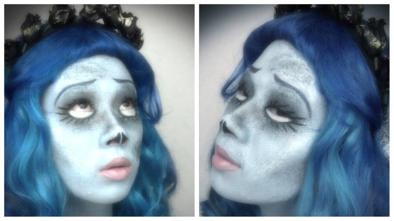 Corpse bride makeup for halloween