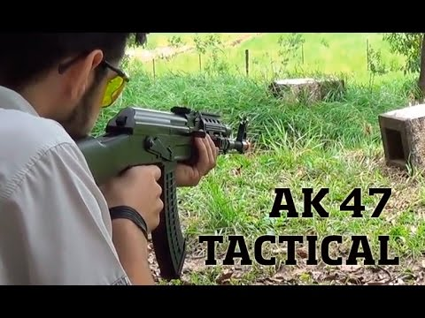 Testamos a Airsoft AK47 FSV Tactical AEG Cybergun - Ventureshop