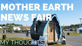 Mother Earth News Fair - Hope for Sustainability: My Thoughts