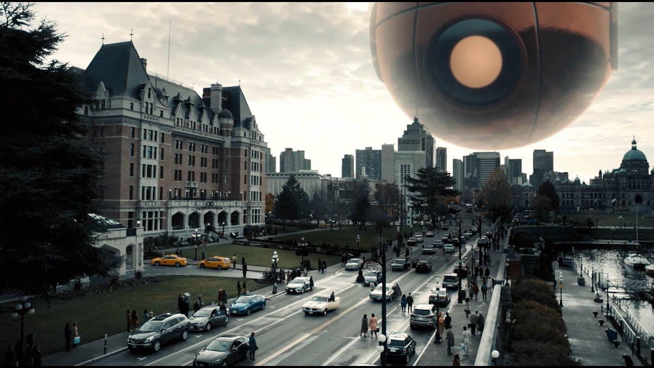 城市上空突降眼球狀詭異巨物,看到的人類都會變成雕塑...『新陰陽魔界·離線時間』| 小俠說電影