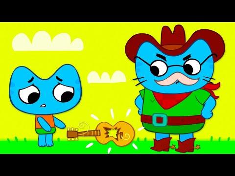 Котики, вперёд! Танцуют все! - серия 15 - мультики для детей