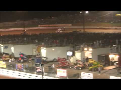 Williams Grove Speedway 410 and 358 Sprint Car Highlights 3-23-12