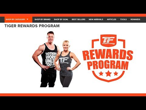 Tiger Fitness Rewards Program - LEARN How to EARN!