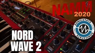NAMM 2020: Nord Wave2