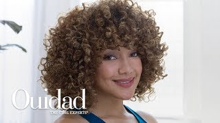Defined Curly Hair Tutorial -  Ouidad VitalCurl+