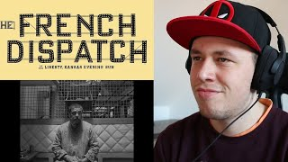 THE FRENCH DISPATCH Official Trailer REACTION & REVIEW