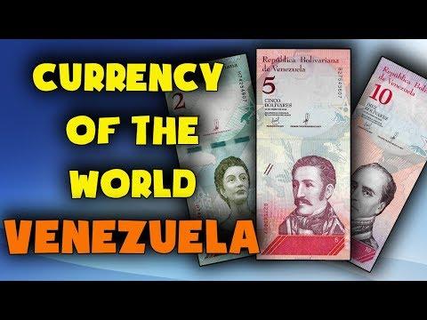Currency Of The World - Venezuela. Venezuelan Bolivar Soberano (VES). Exchange Rates Venezuela