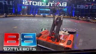 Splatter vs Warrior: BattleBots Season 2 Qualifying Round