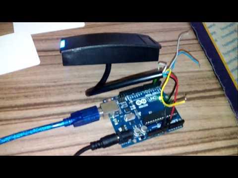 Arduino HID RFID Reader DT 5506 Em ( Output WIEGAND 26 Bit )