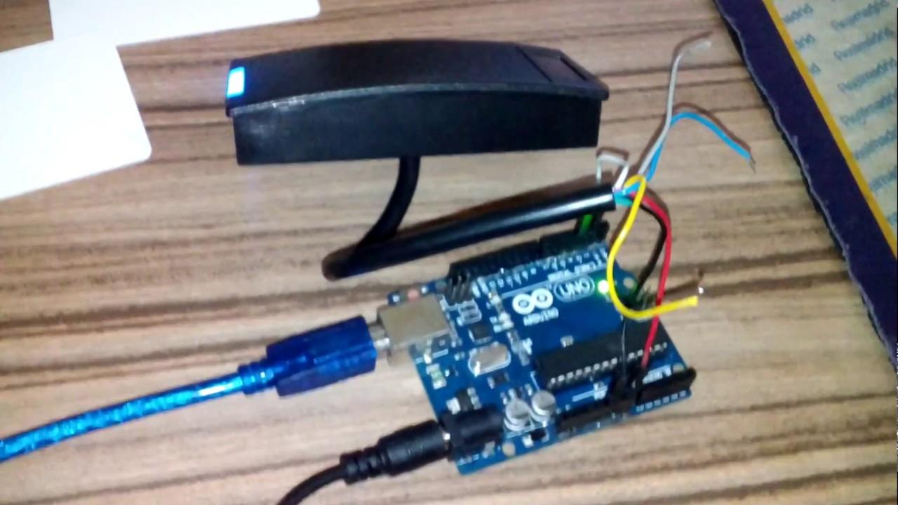 Arduino HID RFID Reader DT 5506 em ( output WIEGAND 26 bit