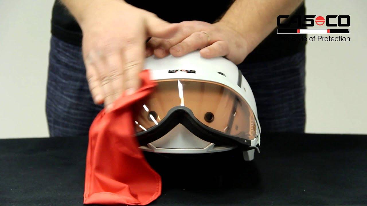 SP 6 SNOWmask Schutz und Reinigungstuch protection & cleaning cloth