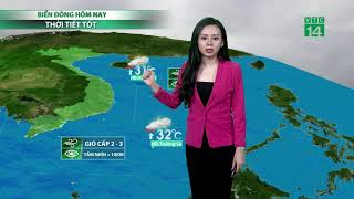 Thời tiết 6h 14/10/2018: Nam Bộ và cả Tây Nguyên trong hôm nay khá tạnh ráo, ít mưa | VTC14