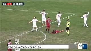 REGGINA-CATANZARO 3-4 (03-02-2019) SERVIZIO RAI