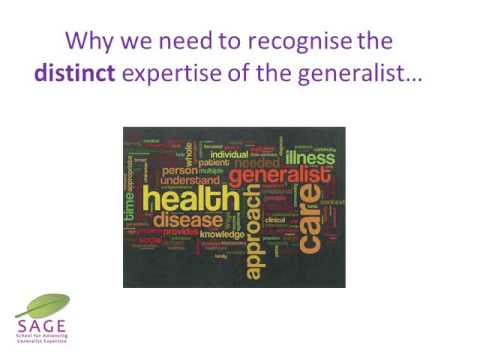 What Is A Generalist