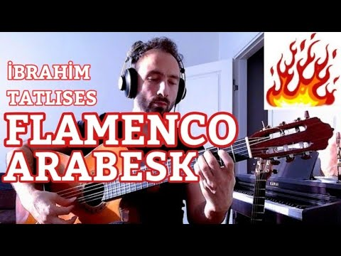Flamenko Gitar Arabesk YALNIZIM DOSTLARIM İbrahim Tatlıses Şarkıları, İlker ARSLAN Klasik Gitar