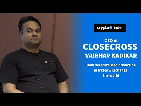 CloseCross CEO Vaibhav Kadikar: How decentralised prediction markets will change the world