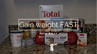 How to Gain weight fast (dog American bully)