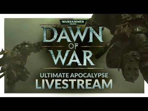 DAWN OF WAR ULTIMATE APOCALYPSE MOD   Multiplayer Livestream #2 - Nostalgia Knights