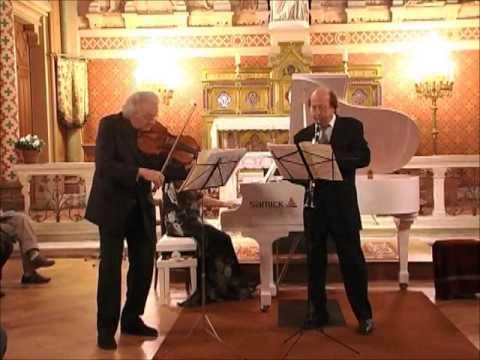 Mozart Trio pour piano,alto et clarinette K.498.3 mouv. Rondeaux