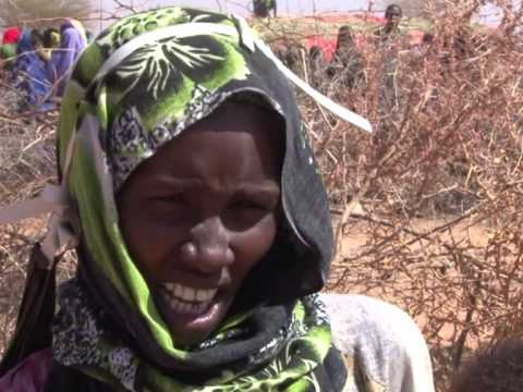 Feeding the starving in Somalia