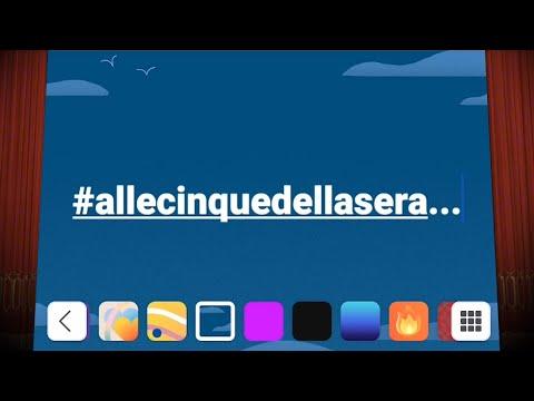 #allecinquedellasera - 24 marzo 2020