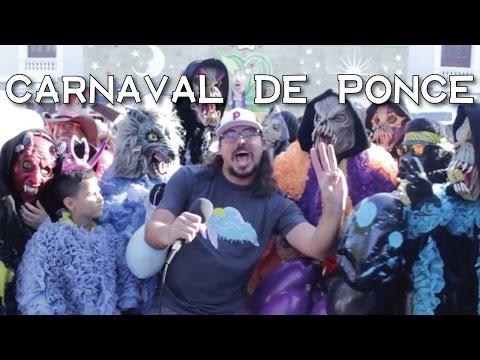 Jangueo en el Carnaval de Ponce