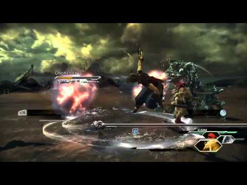 FINAL FANTASY XIII-2 GAMEPLAY TRAILER 'CLASH OF TIME'