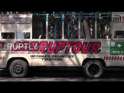 Mexico: Take free corruption bus tour around Mexico City