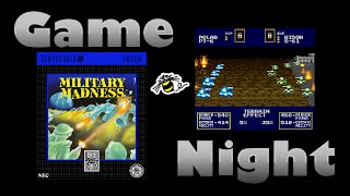Military Madness - TurboGrafx-16 - Game Night - KWKBOX