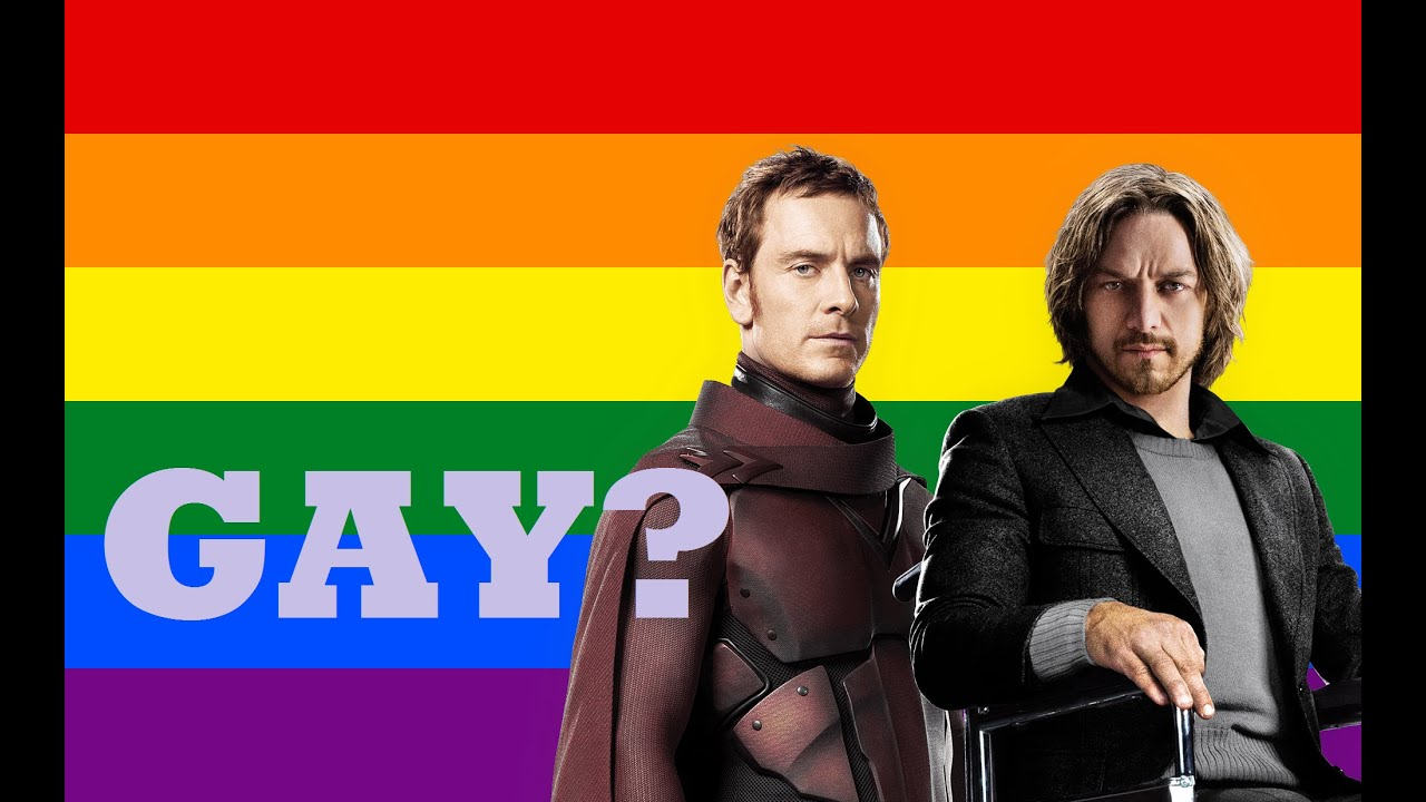 IS MAGNETO GAY