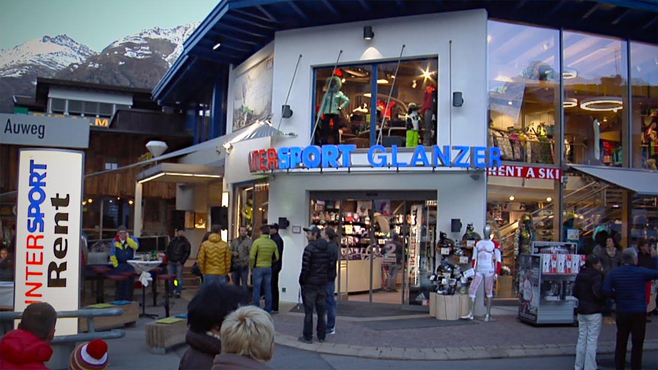 948cc275d34 Neueröffnung Intersport Glanzer Zentrum in Sölden 2014 - YouTube