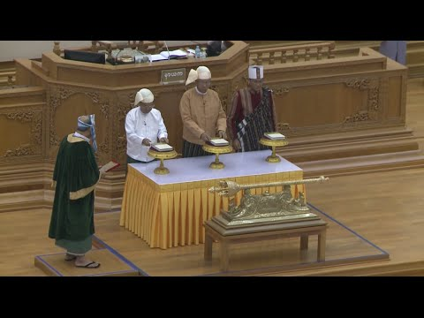 Myanmar's New President Sworn in amid High Public Hopes