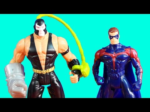 Batman & Robin Toys Action Figure Collection With Bane Poison Ivy And Batgirl