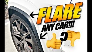 NEW FLARES! Fender Flares For Any Car