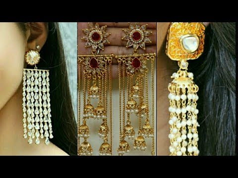 latest Indo western designer earrings collections || party wear earrings || trendy Designs ||
