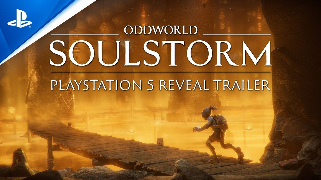 Oddworld Soulstorm - Announcement Trailer | PS5