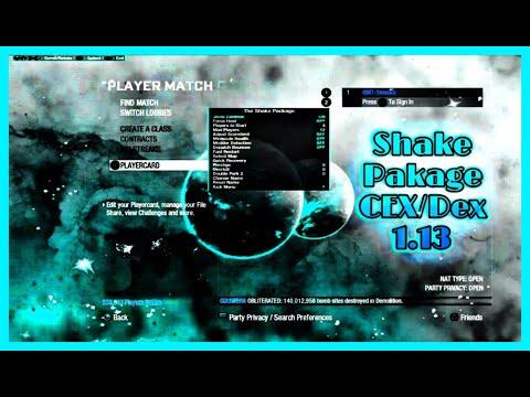 MW3 TU24 The Shake Package SnipingTS Menu Download