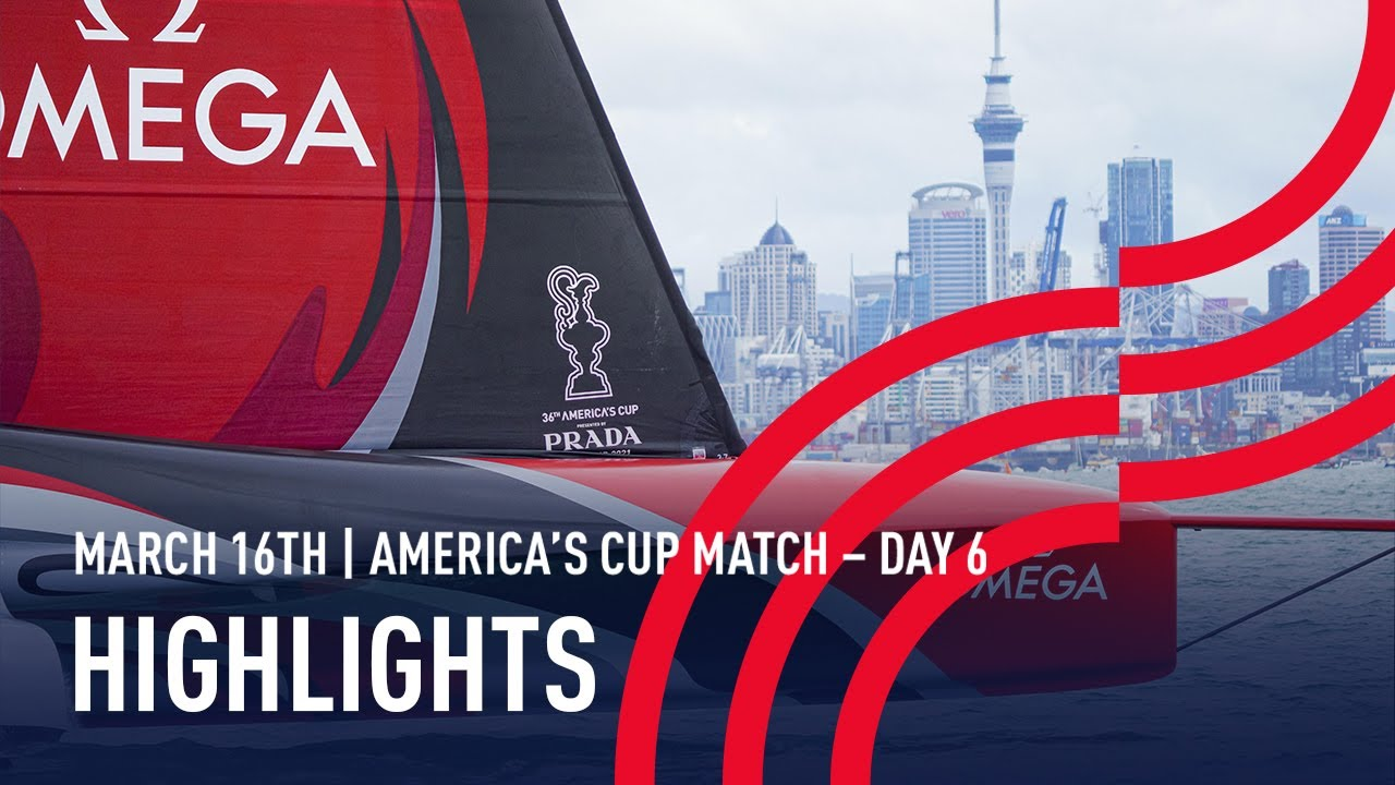 36th America's Cup Day 6 Highlights