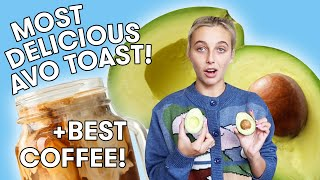 How EMMA CHAMBERLAIN Makes the Perfect Cup of Coffee | What's Cooking?